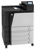 HP LaserJet M855xh Printer