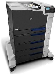 HP LaserJet CP5525xh Printer
