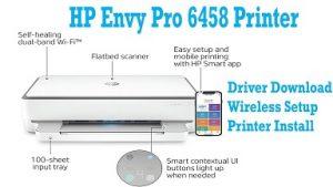 HP ENVY Pro 6458 Printer's image